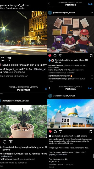 Di Apresiasi Dosen Hari Jummaulana, Inilah Pemenang Lomba Fotografi Mahasiswa UIN Suska Riau