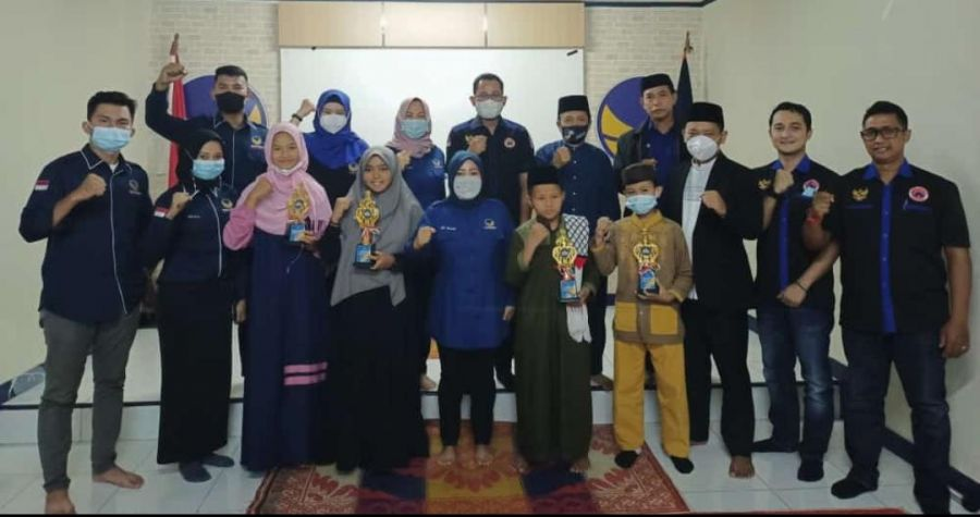 DPW dan Sayap Partai Nasdem Gelar Final lomba Dai Cilik dan Buka Bersama