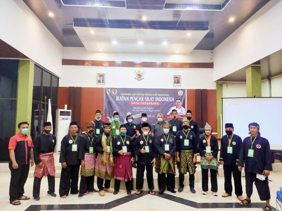 IPSI kota pekanbaru Gelar penataran Juri Festival Pencak Silat Tradisional