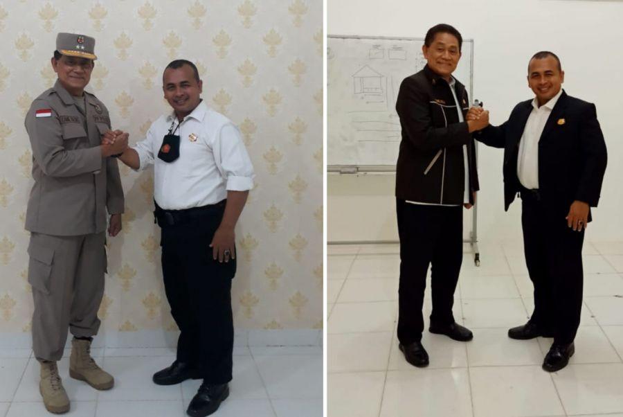 Joni Karjaini Manager Security Lulus sertifikasi Uji Kompetensi BNSP Kualifikasi Gada Utama