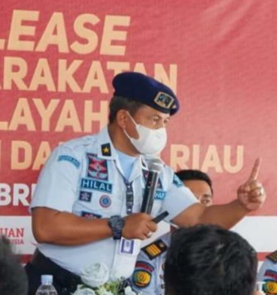 Kadiv Pas Kemenkumham Riau Tidak Merasa Punya Musuh dan Hanya Jalani Tugas
