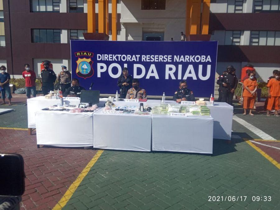 Operasi Jaga Kampung Anti Narkoba Merupakan Instruksi Kapolri ke Seluruh Jajaran