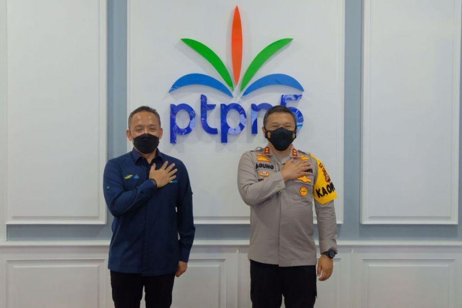 Polda Riau Siap Perkuat Pengamanan PTPN V dari Pencurian Hasil Produksi