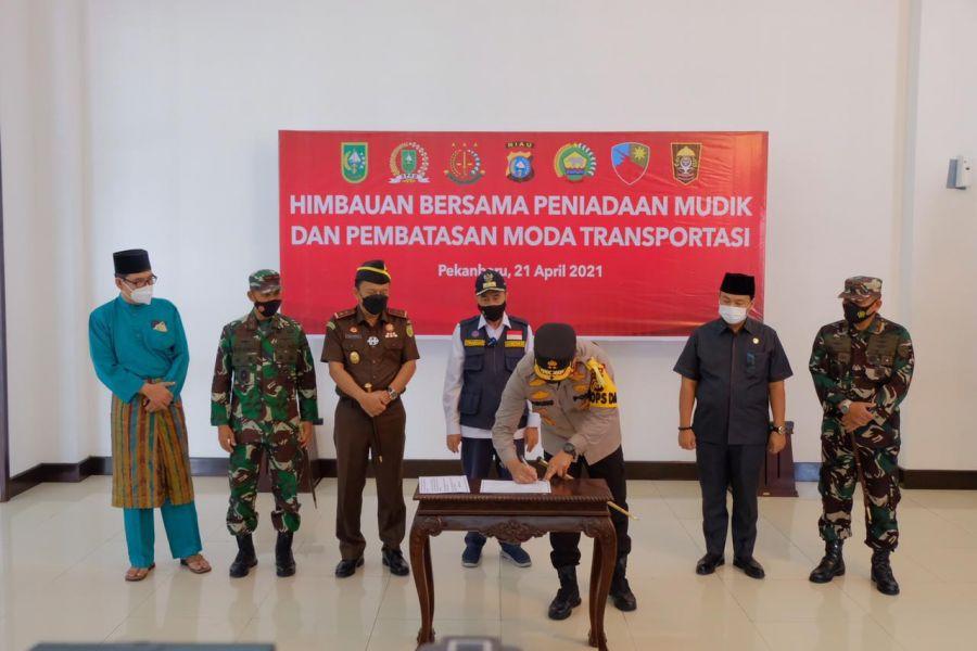 Polda Riau Siapkan Gedung Eks SPN Rumbai Tempat Karantina Bagi Pemudik Nekat Pulang
