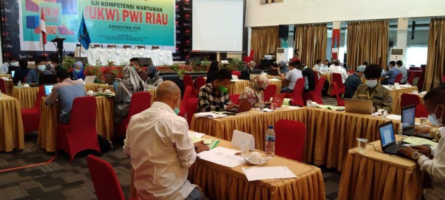 PWI Riau Kembali Gelar UKW Angkatan XVII Diikuti 42 Wartawan