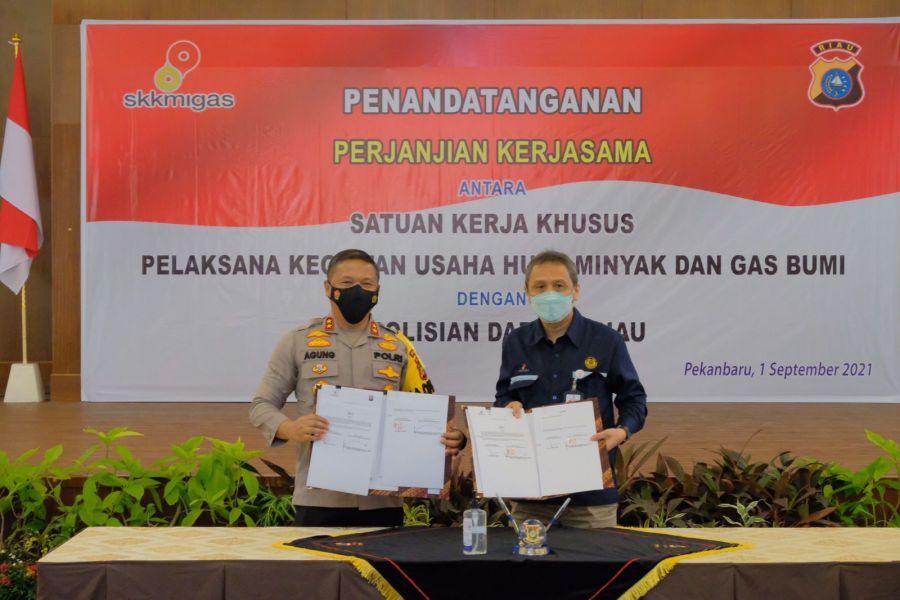 Kapolda Riau: Bentuk Komitmen Polda Kelola Keamanan Blok Rokan Secara Baik, Efisien dan Modern