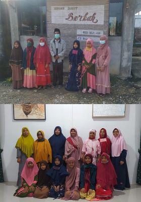 6 Santriwati dari Suku Melayu Tua Belajar di Rumah Quran Milik UAS Batubara Melalui Rapat Adat