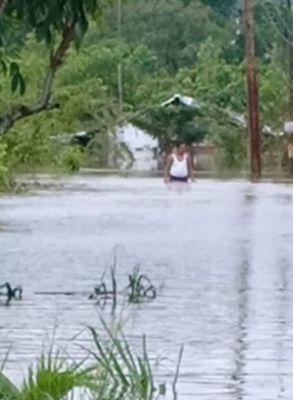 Banjir di Tangkerang Labuai Setinggi Pinggang Orang Dewasa, Terparah Sejak 35 Tahun Terakhir