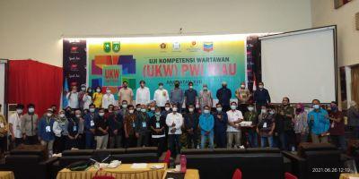Ditutup Kepala SKK Migas, 11 Peserta UKW Angkatan  XVII PWI Riau Dinyatakan Tidak Kompeten