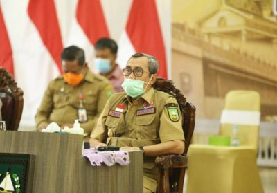Gubri Minta Semua OPD Aktif Dalam Kampanye dan Antisipasi Covid-19 di Riau