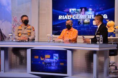 Gubri: Terimakasih Bapak Kapolda, Riau Semakin Aman dan Kondusif