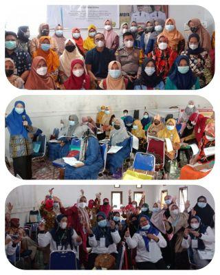 IPKJI dan PKM Sidomulyo Rawat Inap serta 5 Institusi Taja Pelatihan Kader Kesehatan Jiwa