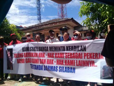 PBB Pekanbaru dan DPP Forum LSM Riau Bersatu Komitmen Kawal Kasus Darmas Silaban Sampai Tuntas