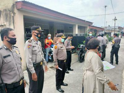 Puskesmas Karya Wanita Kecamatan Rumbai Lakukan Tracing ke Warga Terpapar Covid-19
