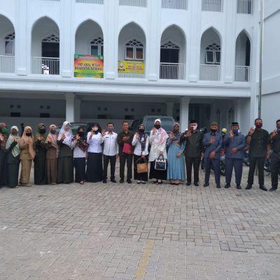 SMP Amal Mulia Boarding School Gelar MPLS Secara Daring