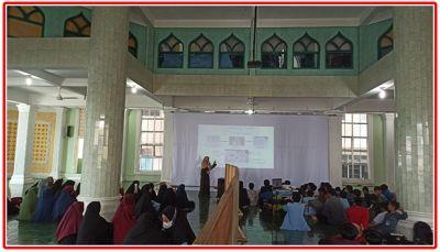 Tim Pengabdian Kukerta Integrasi UNRI 2021 Lakukan Sosialisasi Pembuatan Hand Sanitizer di SMP AMBS